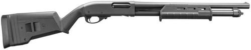 "Remington 870 Tactical, Pump Action, 12 Ga 3"" Chamber, 18.5"" Cylinder Barrel, Magpul Stock, 6Rd, Bead 81192"