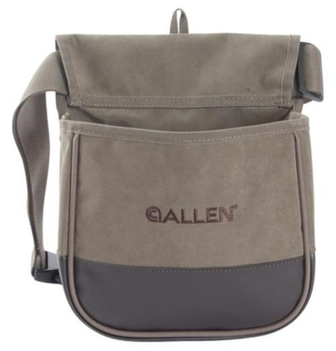 Allen Select Canvas Double Compartment Shell Bag Olive Green