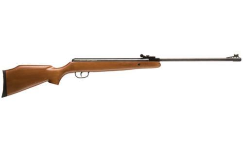 Crosman Air Guns Optimus Air Rifle .177 Caliber Break Barrel Hardwood Stock Fiber Optic Sights