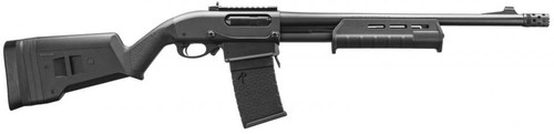 "Remington 870 DM Magpul 18"" Barrel w/6 rd. mag, Magpul Stock & Fore-end, Ghost Ring Sights, Tactical Choke"