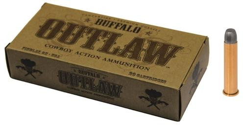 Buffalo Cartridge Outlaw 45-70 Government 405gr, Lead Round Nose Flat 20rd Box