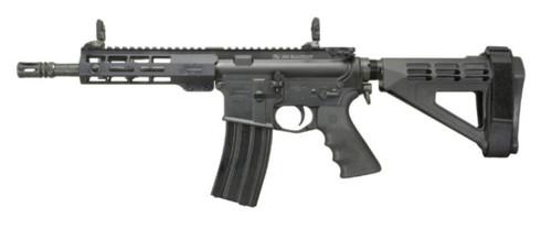 "Windham AR Pistol, SB Arm Brace .300 AAC Blackout 9"" Chrome-Lined Barrel Flip Up Sights 30rd Mag"