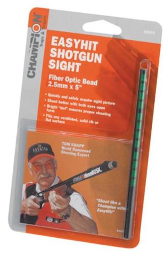 Champion EasyHit Fiber Optic Shotgun Sights Green 2.5mm - 5 Inches