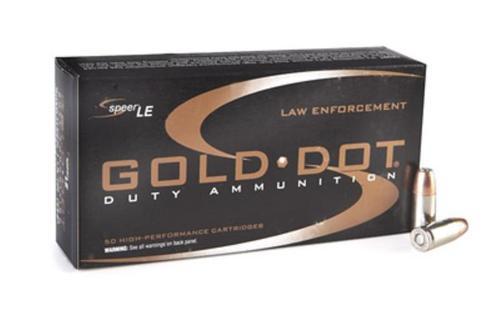 Speer Gold Dot 9mm 124gr DH 50rd/Box