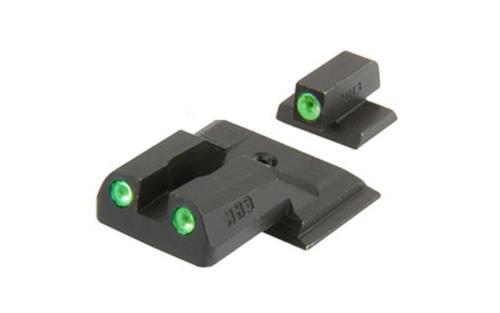 Meprolight Tru-Dot Tritium Sights S&W M&P Shield Tritium Green Tritium Gr