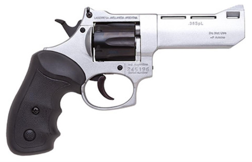 """Bersa Comanche II-A Double 38 Special 4"""", 6rd, Black Synthetic Nickel"""