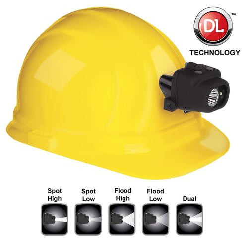 Nightstick Dual Light Headlamp with Hard Hat Clip 100/60/90/50/180 Lu