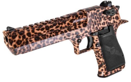 """Magnum Research Desert Eagle Mark XIX, .44 Mag, 6"""", 8 Rd, Cheetah Print"""