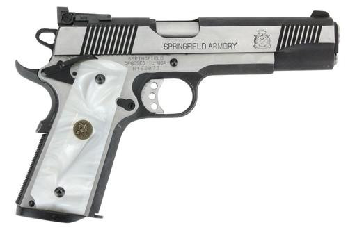 Pachmayr 1911 Grip White Pearl Simulated Pearl