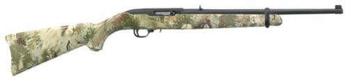 Ruger 10/22 Rifle, 22LR, Wolf Pattern Camo, 10rd Mag
