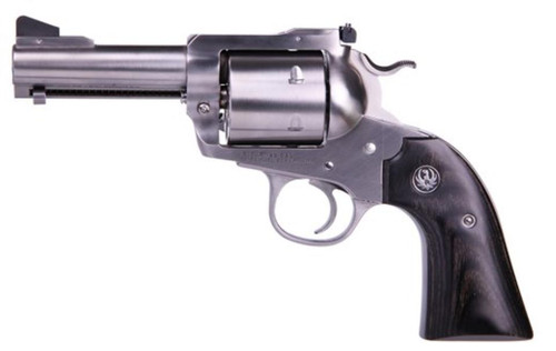"Ruger Blackhawk Bisley Convertible 45 ACP & 45 Colt 3.75"" SS Barrel 2 Cylinders -Unfluted"