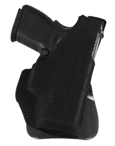 "Galco Paddle Lite Fits Belt Width 1.75"" Black Premium Center Cut Steer, Springfield XD 3"", Right Hand"
