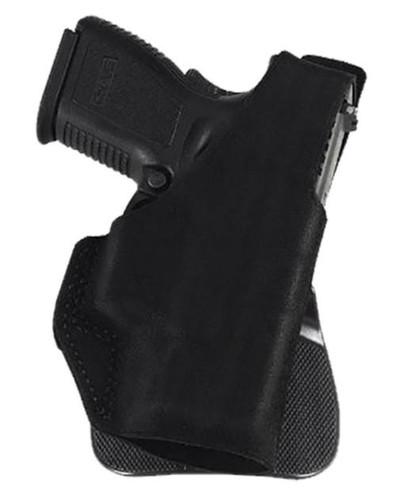 "Galco Paddle Lite Fits Belt Width 1.75"" Black Premium Center Cut Steer, S&W J-Frame 640, Right Hand"