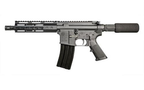 "IO AR-15 Pistol, 223/5.56, 7"" Barrel, Black, 7"" Free Float KeyMod Rail 30Rd Mag"