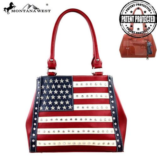 Montana West American Pride Concealed Handgun Collection Handbag