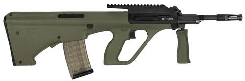 "Steyr AUG A3 M1, .223/5.56, 16"", 30rd, High Rail, Green Synthetic Stock"