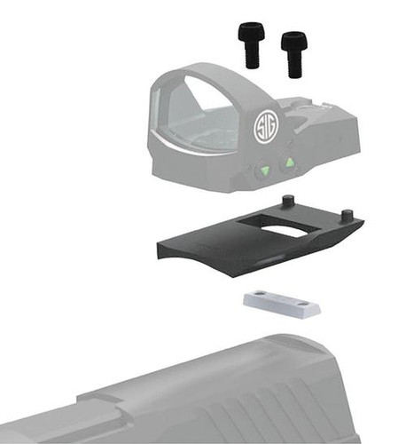 Sig Romeo1 Mounting Kit For Sig P320 1-Piece Style