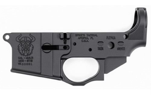 Spike's Tactical, Viking, Stripped Lower 223/556NATO, Black, Non-Colored