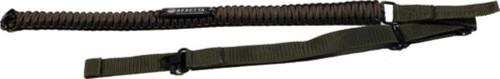 BERETTA HH PARACORD GUN SLING OD GREEN/BLACK W/ QD SWIVELS