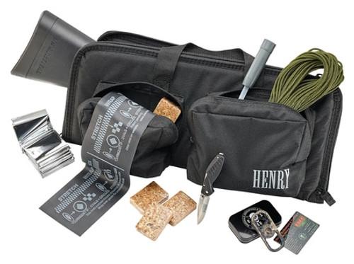 "Henry U.S. Survival Pack AR-7 Rifle Plus Gear 22LR 16"" Barrel Black Teflon Finish ABS Plastic Stock 8rd Mag"