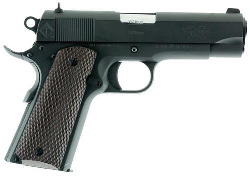 "ATI FX9 Single 9mm 4.25"" Barrel, Mahogany Grip Black, 9rd"