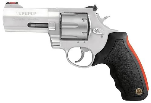 "Taurus 444 Ultra Lite 44 Mag 2.25"", Matte SS Finish, Fixed Sights, Cushion Rubber Grip"