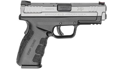 """Springfield XD Mod.2 Tactical 45ACP, 4"""" Barrel, Fiber Optic Front Sight SS Slide 13rd Mag"""