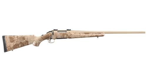 """Ruger Americam Rifle 308 22"""" Barrel Kryptek Nomad Camo Desert Sand Cerakote Barrel"""