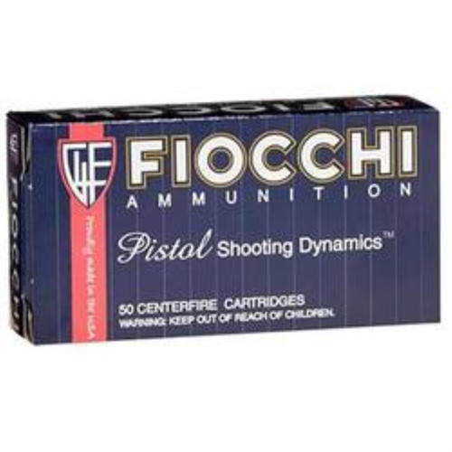 Fiocchi .38 Special, 130 Gr, Complete Metal Jacket, 50rd/Box