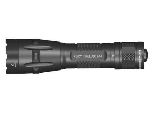 Surefire Fury Duel Fuel Intellibeam Flashlight, 1500 Lumens, Black