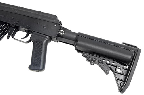 Vltor AK-47 Receiver Extension Modstock Adapter Adjustable Aluminum Black