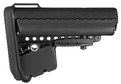 Vltor EMOD Buttstock AR-15 Mil-Spec Polymer Black