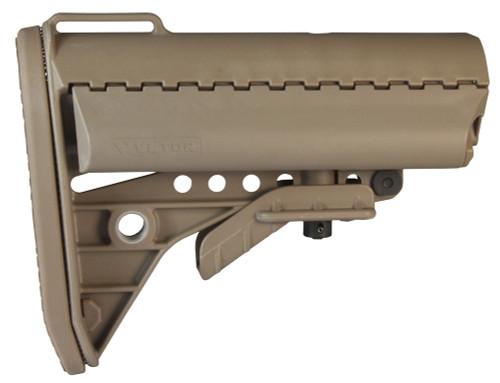 Vltor IMOD Buttstock Mil-Spec Standard AR-15 Polymer Tan