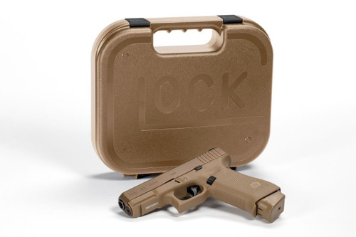 "Glock G19X 9mm, 4"" Barrel, Coyote Finish, Nite Sites, 2x19rd, 1x17rd Mags"