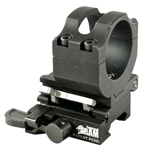 Samson Side Flip Mount For RAM Flip to Side Style Black Finish