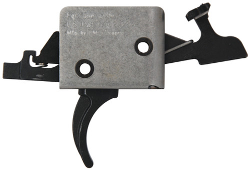 CMC Triggers AR-15/AR-10 Match Grade 2-Stage Trigger Group Large Pin Curved Trigger 2 Pound Set - 2 Pound Release