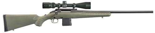 """Ruger American Predator Package 6.5 Creedmoor 22"""" Barrel Vortex 4-12 Scope, Moss Green Synthetic Stock"""