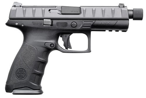 "Beretta APX SF Combat 9mm, 4.9"" Threaded Barrel, 10rd, Black"