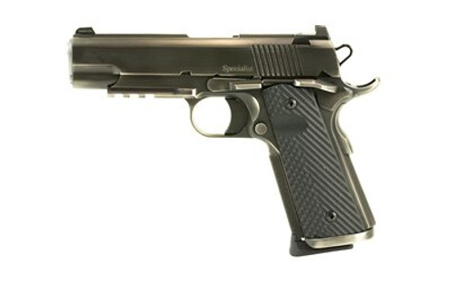 """Dan Wesson Specialist Commander, 45 ACP, 4.25"""", 8rd, Distressed Finish, G10 Grips"""