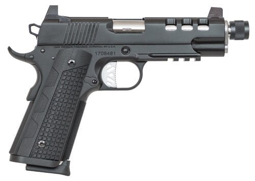 "Dan Wesson Discretion Commander 9mm, 5"", 10rd, G10 Grips, Black SS"