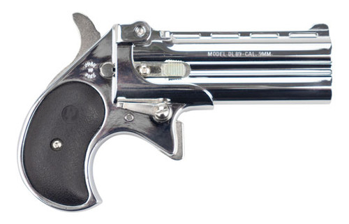 Davis Industries DLB9, 9mm Derringer, Chrome Finish, Used