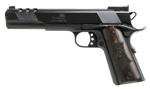 """Iver Johnson Eagle XL Ported 1911 45 ACP, 6"""", Matte Blue"""
