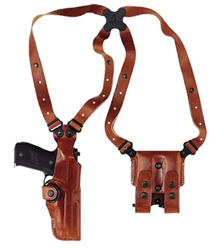 Galco Vertical Shoulder H&K USP .45, Ambi, Tan