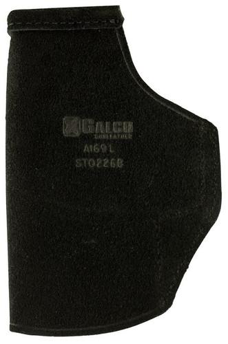 Galco Stow-N-Go Glock 19/23/32, CZ P10C, Hi Point C9 Compact 9, Black, LH