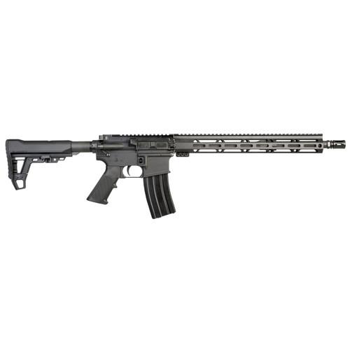 "I.O. M215-ML15 AR-15, 223/556, 16"" Barrel, Black Finish, 6 Position Stock, 15"" MLOK Rail, 30 rd Mag"