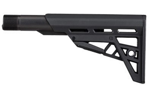 Advanced Technology TactLite, Stock, Fits AR-15, Adjustable Commercial Stock, Commercial Buffer Tube Assembly, Black Finish