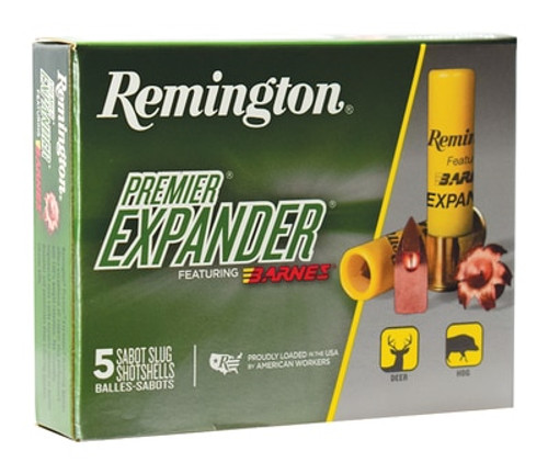 Remington Premiere Expander Slug PRX20M 20 Ga, 5rd/Box