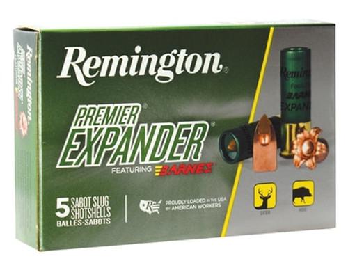 Remington Premiere Expander Sabot Slug PRX12M 12 Ga, 5rd/Box