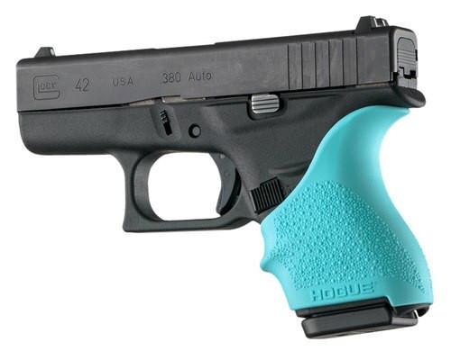 Hogue Handall Grip Sleeve Glock 42/43 Aqua