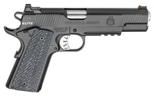 "Springfield Range Officer Elite, Operator 1911 9MM, 5"" Barrel, G10 Black Grips, 2-9Rd Mags"